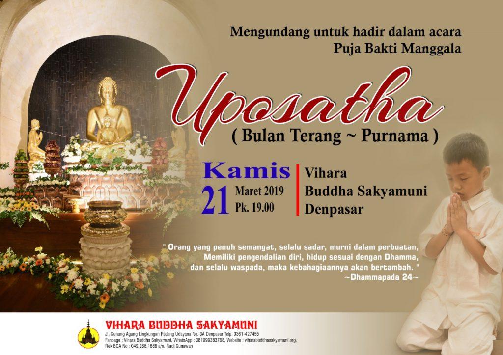 uposatha 21 mar