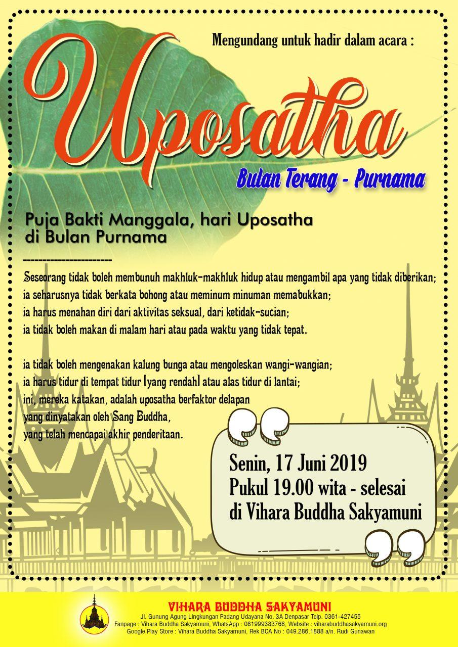 UPOSATHA 17 JUNI