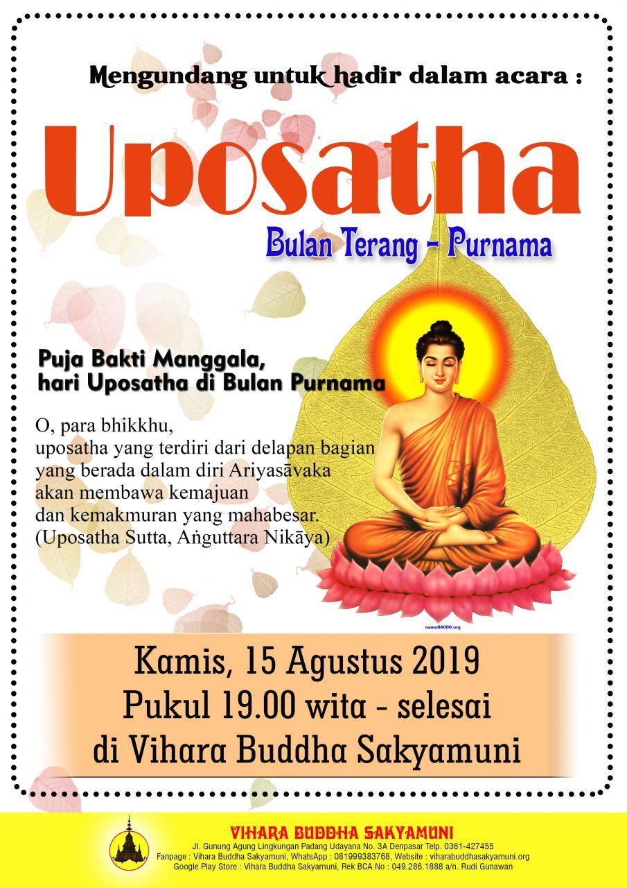UPOSATHA 15 AGUSTUS