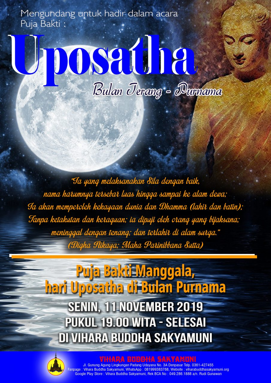 UPOSATHA 11 NOV